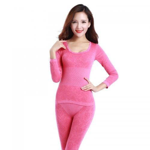 270804 Modal Women Thermal Underwear Sets with more color in stock