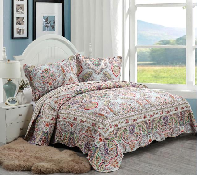 Превосходное покрывало для кровати с 3d принтом, тонкое покрывало большого размера для клиентов
