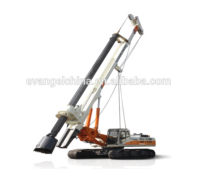 Earth drilling zoomlion rotary rig kelly bar interlocking