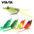 6cm 12g soft Frog Lure Fishing Lures Treble Hooks Top water Ray Frog Artificial Minnow Crank Strong Artificial Soft Bait