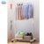Portable bedroom folding stainless steel shop clothes hanger stand