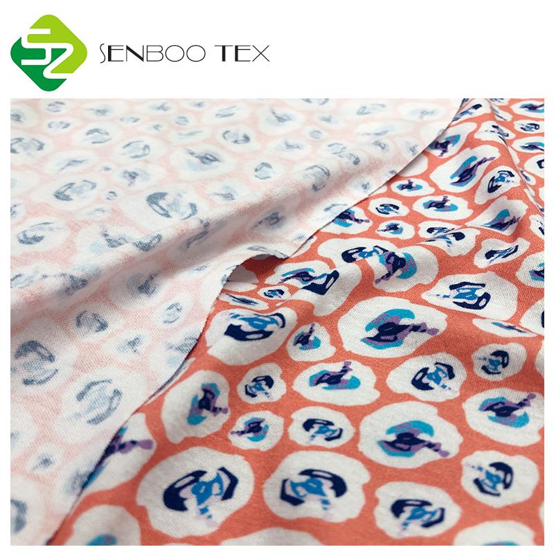 Дизайнерская цифровая печать, Органическая хлопковая ткань, текстиль для детской одежды
