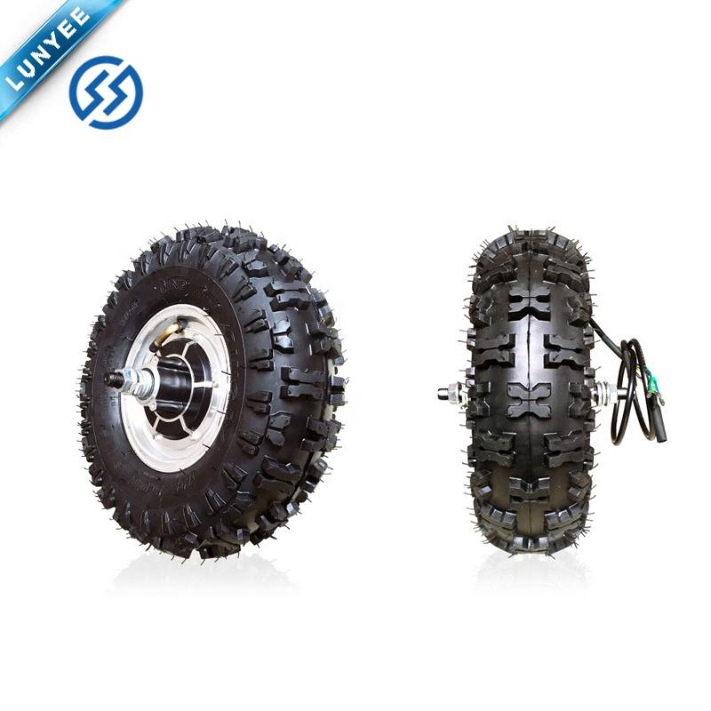 Электрический скутер, гольф-мобиль, 13 дюймов, двойной вал, 48 В, 800 Вт, комплект электродвигателя ступицы колеса