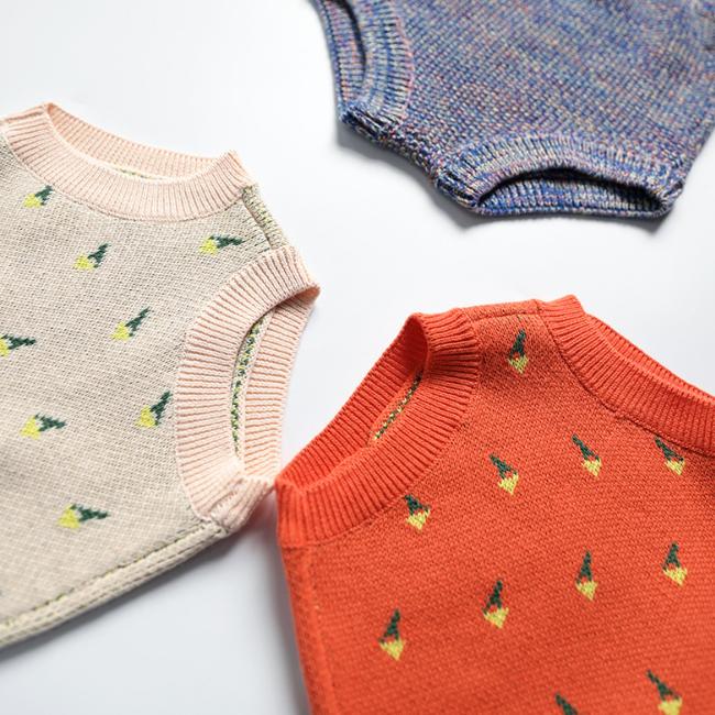 PHB 11524 knitted design fancy crochet baby girls toddler boy shorts
