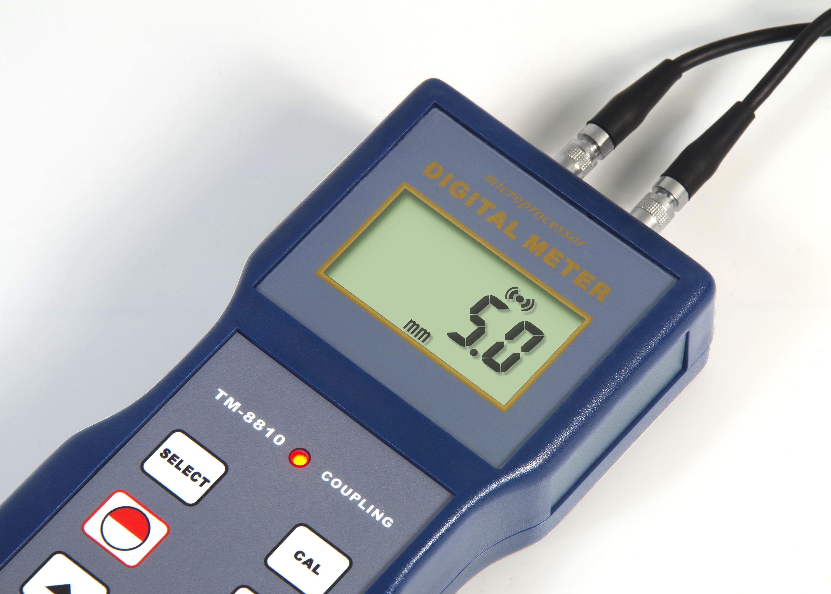 LANDTEK Ultrasonic Thickness Gauge Measure Thickness & Corrosion 1.2 - 200mm TM8810