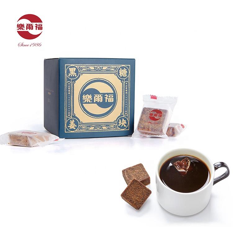 top quality Chinese factory medicinal ginger tea instant black sugar ginger tea for warm stomach natural sugar cube - 4uTea | 4uTea.com