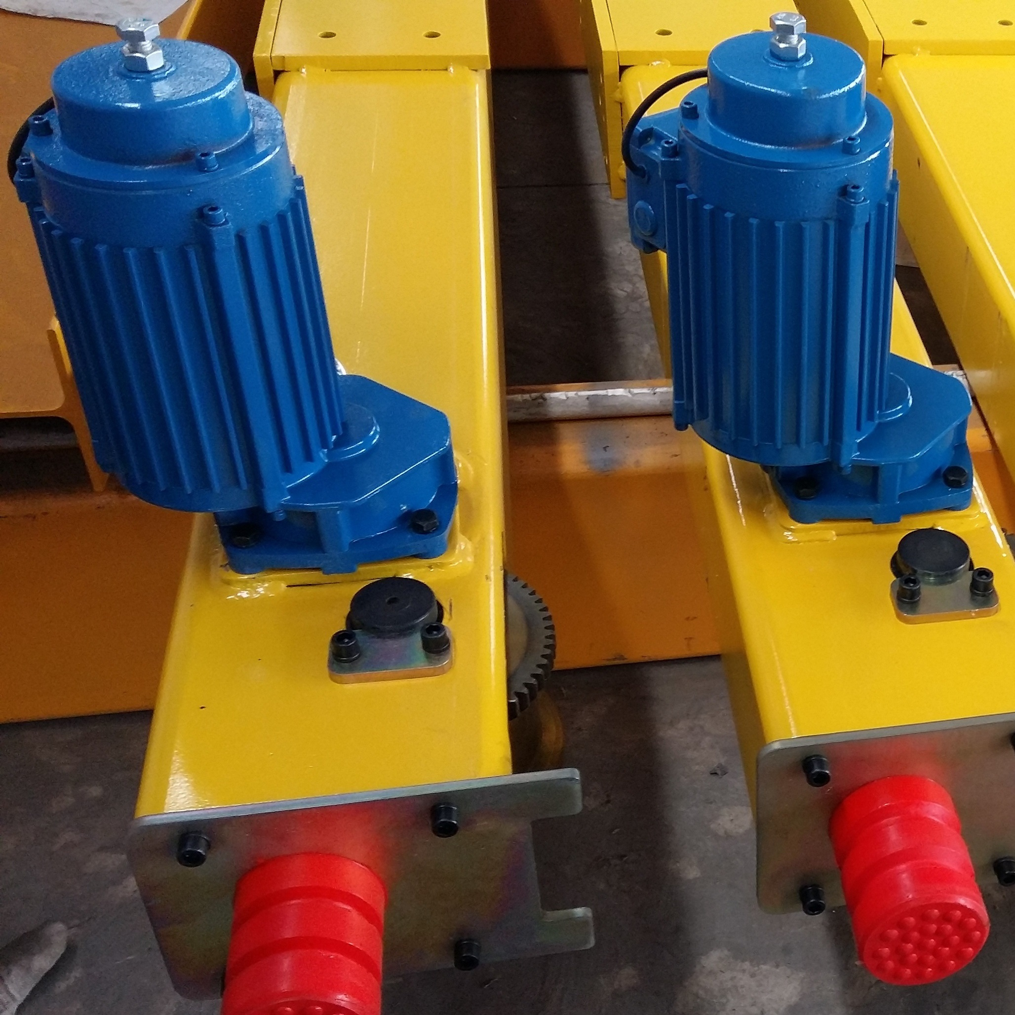 Factory supply AC geared motor /electric hoist motor for bridge crane and gantry crane