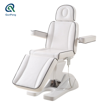 Popular white manicure nursing beauty electric facial bed electric massage table tatoo bed