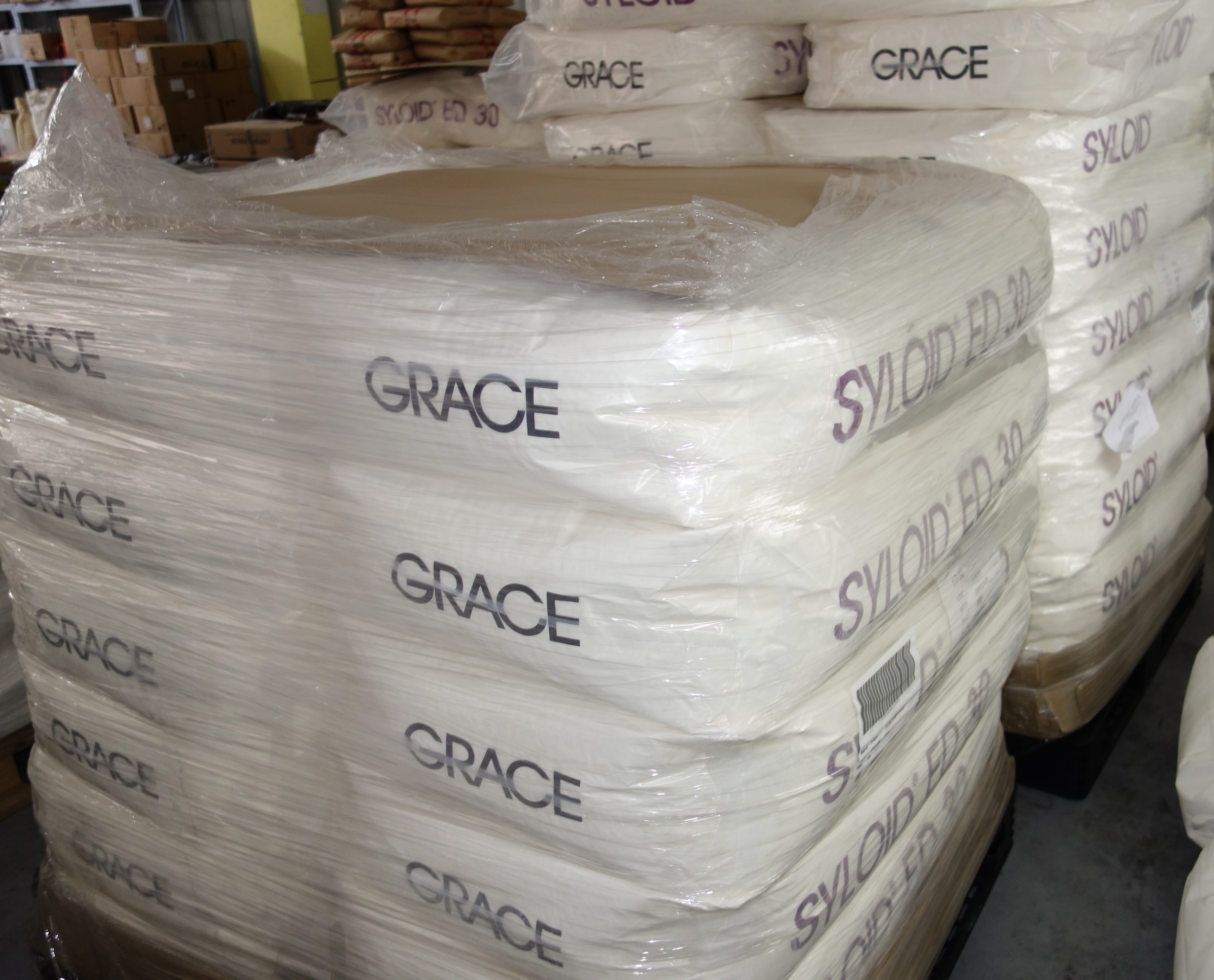 wax treated, fine particle size amorphous silica matting agent SYLOID 7000 with best price