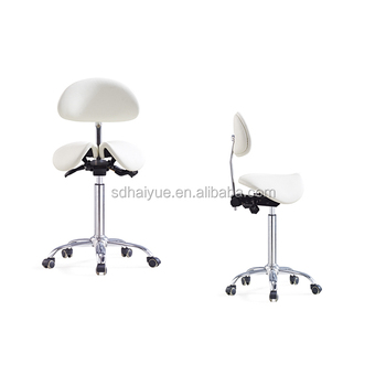 Professional Chair vendor Dental saddle stool Medical chair with wheels