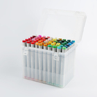 High Colors Color School Markers High Quality Skin Colors Drawing Non- Toxic Alcohol Multi Color Marker Pen For School