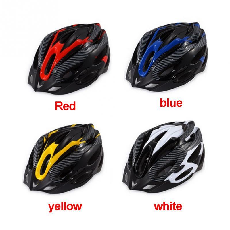 Cycling Helmet Adjustable Bicycle Trail bike cycling helmet helmet Road Mountain ultralight Visor Safely Cap