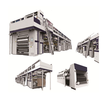 Automatic High Speed 3/5/7 Layers Corrugated Box Cardboard Production Line