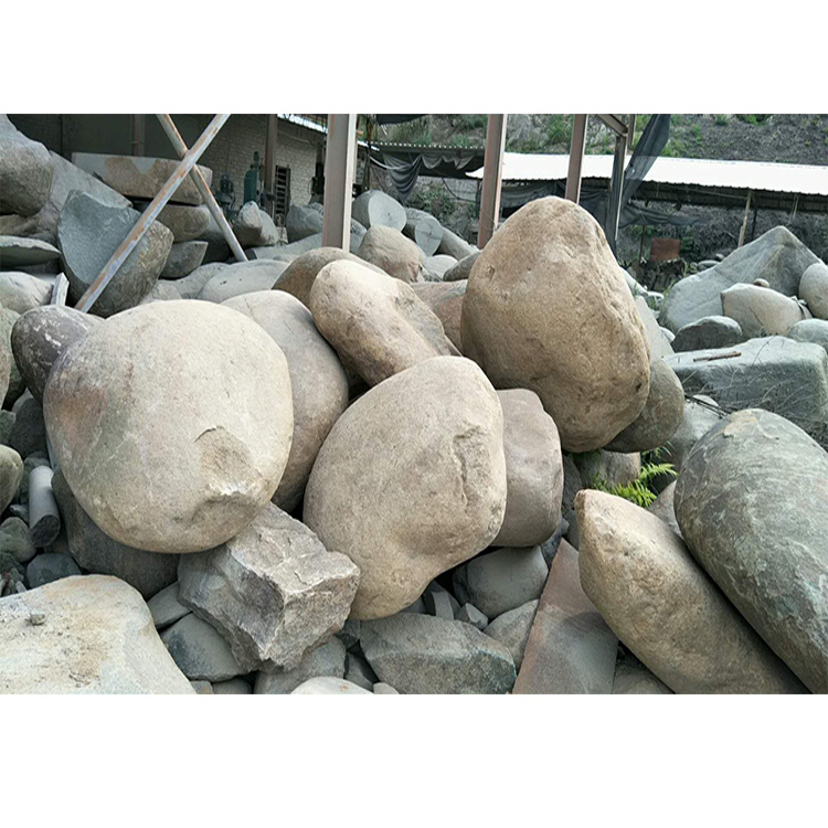 Whole River Rock Purchase Landscaping Round Large Stones Natural Garden Stone Rocks And Small Flat Color Product On Alibaba