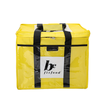 Promotional portable meal soft non woven tesco cooler bag large