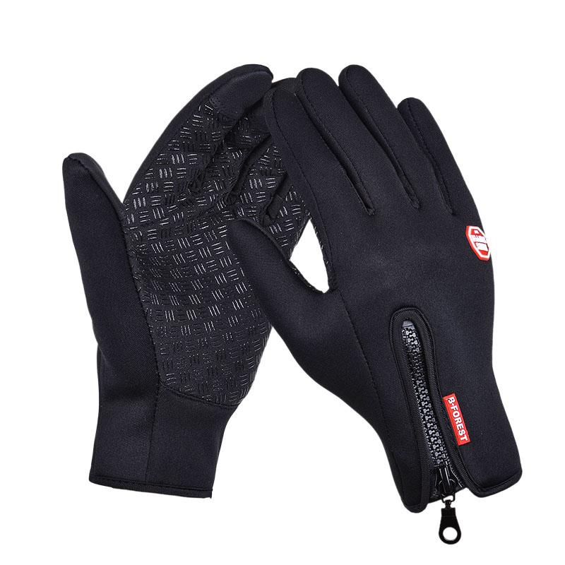 Full Finger Gloves Bicycle Men Women Winter Gloves Touch Screen Windproof Ski Gloves