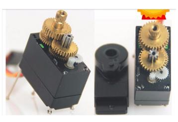 Сервопривод Feetech FT90MR 9g с металлической шестерней непрерывного вращения для умного дома/Хобби на дистанционном управлении