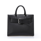 2020 Luxury Brand Microfiber Synthetic Leather Business Kally Lady Black Briefcase For Women Item