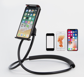Lazy Hangs Neck Mobile Phone Bracket 360 Flexible Mobile Phone Holder With Multiple Function
