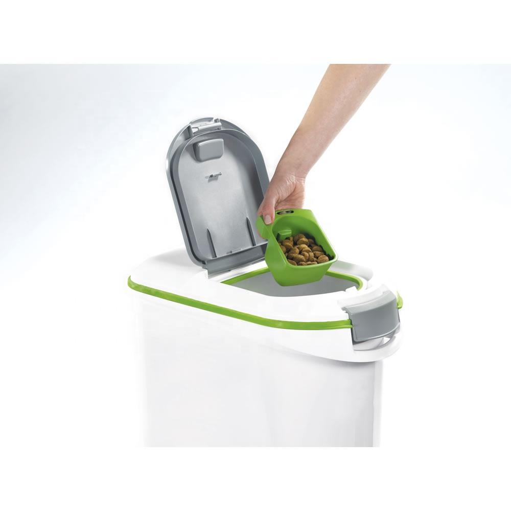 Оптовая продажа, экологически чистый контейнер для хранения пищевых продуктов с логотипом на заказ, 15,20 кг, пластиковый контейнер для пищевых продуктов с крышкой