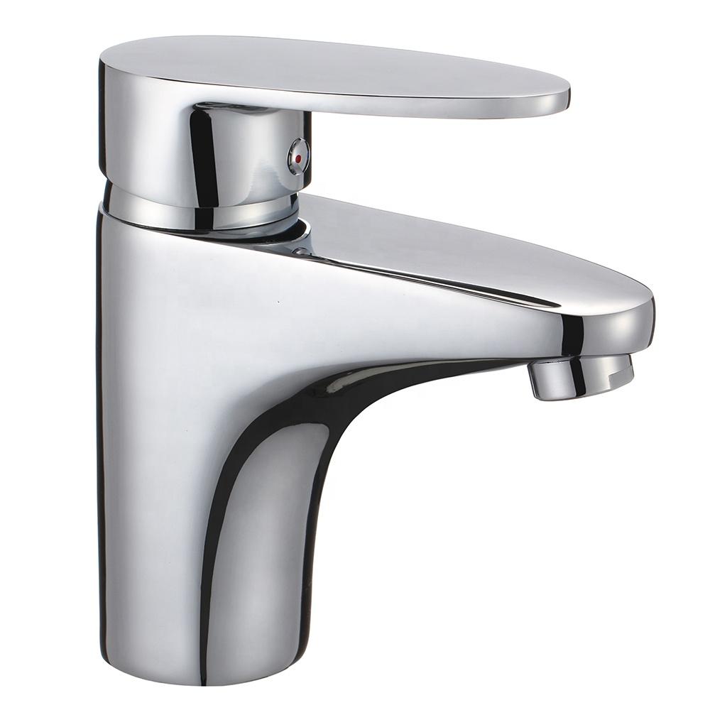 B0051-B цинковый смеситель для душа с одной ручкой, хромированный смеситель для ванны