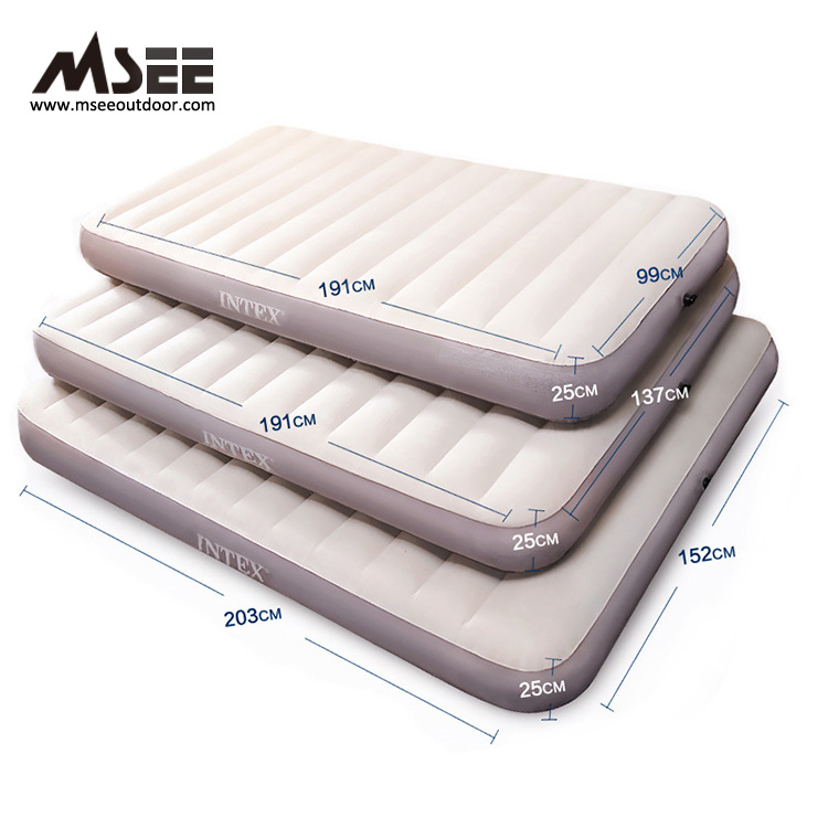 Msee quality design inflatable mattress 64701 air mattress bed intex inflatable bed