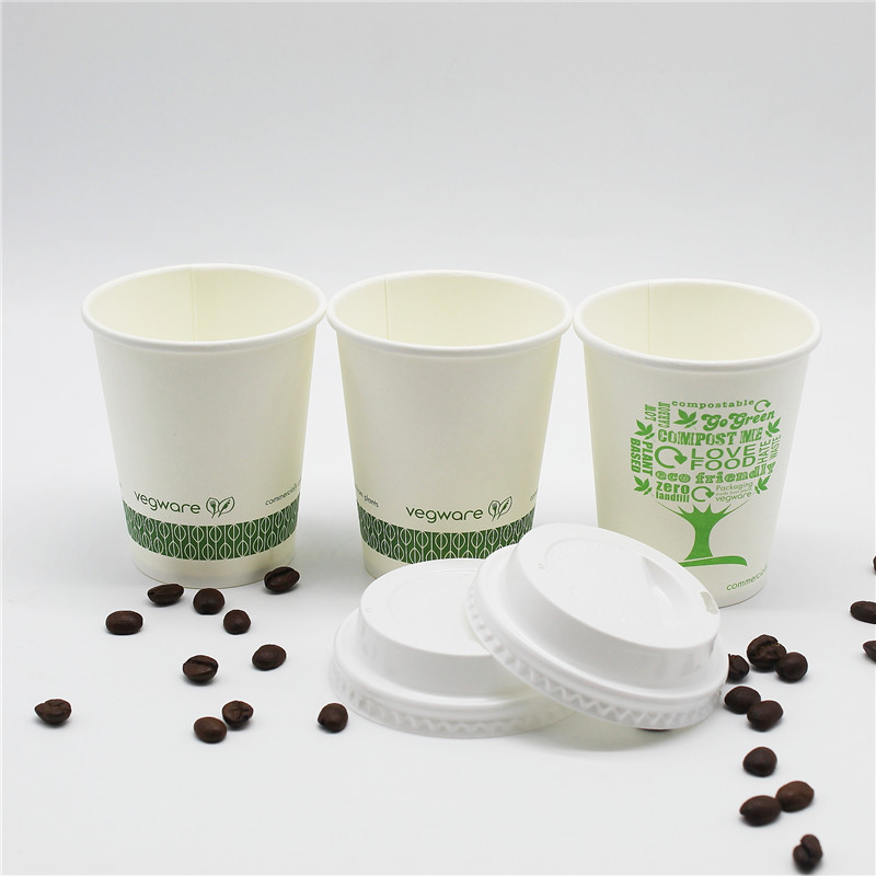 Hot new products paper cup for tea 10oz coffee with lid beverage 8oz