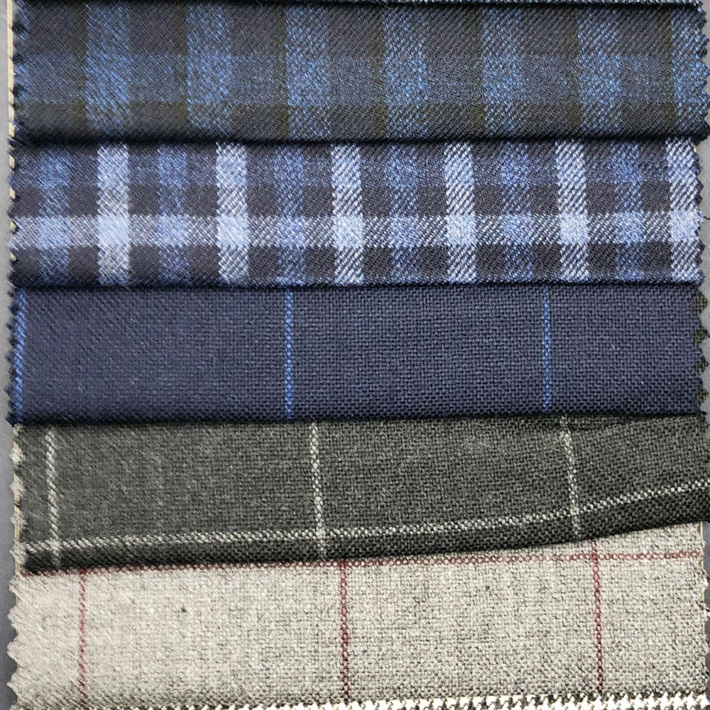 dobby design 100% wool lining ladies suiting fabric
