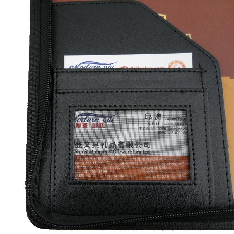 Современная Прямая продажа с завода, картонная папка A5 из искусственной кожи