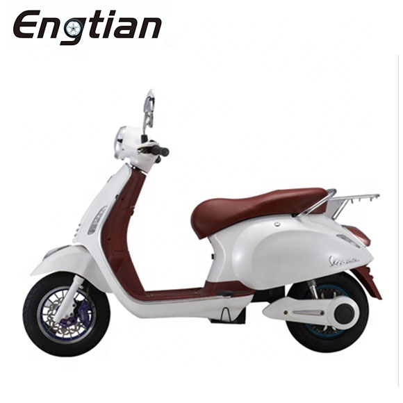 1000w 60V EEC China Classic VESPA CKD электрический скутер vespa ретро итальянский стиль e мотоцикл со съемной литиевой батареей