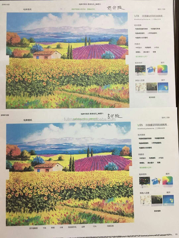used risos comcolor copiers x7200/x7250 A3 four color risos inkjet printer