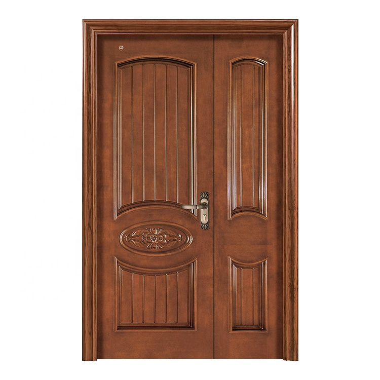 Finished Mother Son Double Swing Exterior Door For Sale Cheap Buy Double Swing Wooden Door Finished Double Doors Interior Solid Wood Double Doors Product On Alibaba Com