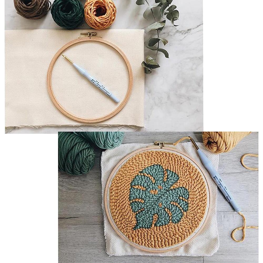 Hot Sale Bamboo Embroidery Hoop Frame Bamboo Cross Stitch Frame Hoop