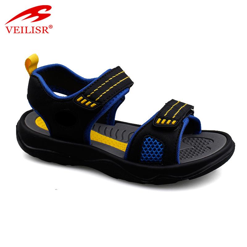 Летние детские спортивные сандалии с нейлоновым ремешком