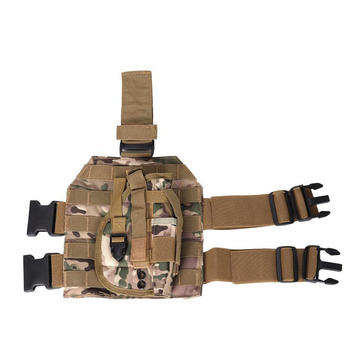 Molle Adjustable Tactical Holster Thigh Leg Pistol Gun Holster