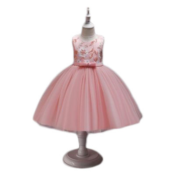 children dresses for girl 2019 summer princess new flower fluffy skirt host performance boutique party frocks