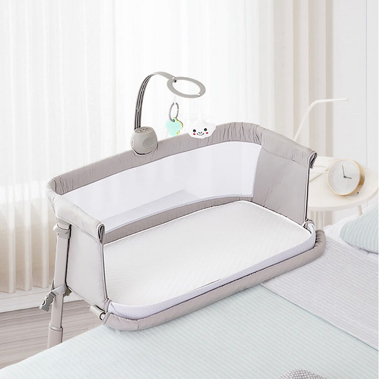 European Height Adjustable Baby Bassinet Baby Cradles and Cribs