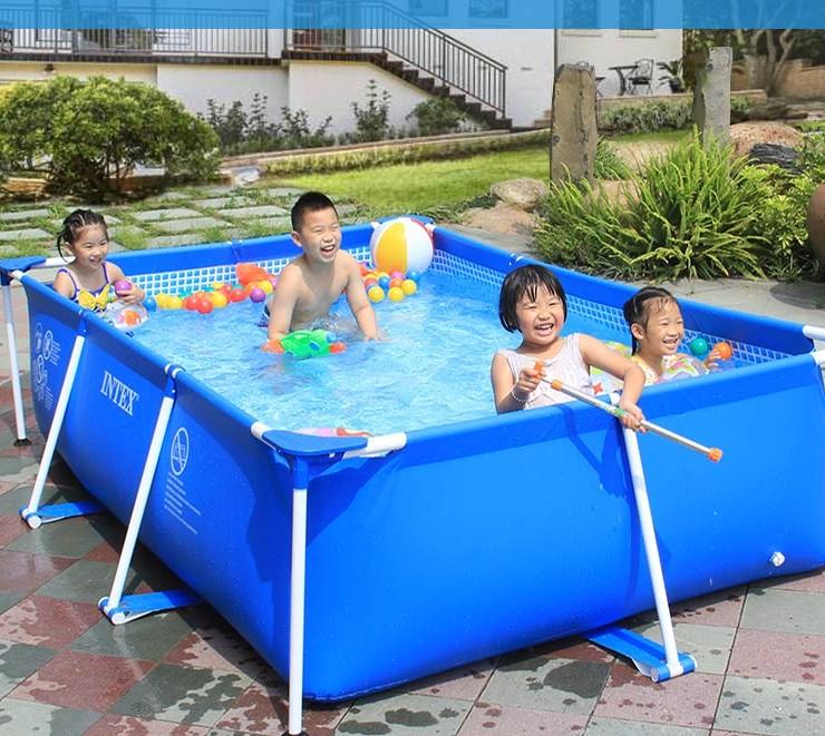 Metal Frame Small Family Rectangular Swimming Pool For Kids And Adults Buy Rectangular Swimming Pool Rectangular Swimming Pool For Kids And Adults Metal Frame Swimming Pool Product On Alibaba Com