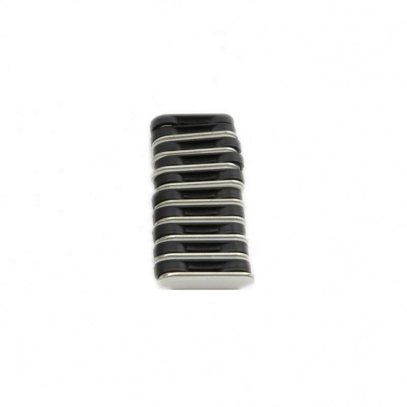 Высокое качество агломерированный ndfeb (неодим-железо-бор) магнит стальная пластина) Личные Жетоны MBP-03