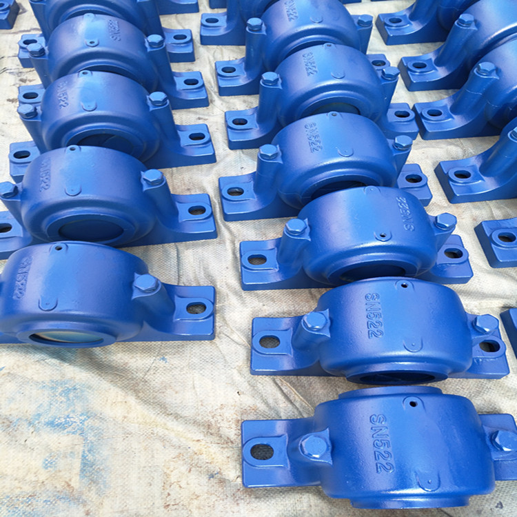 Standard weight plummer block bearing housing SN207 for agricultural machinery