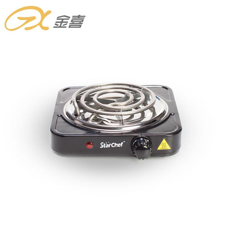 Портативный мини 1000 Вт Электрический путешествия катушки нагревательная плита