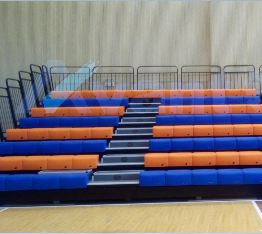 Indoor Stadium Telescopic Seat With Armrest Telescopic Bleacher Retractable Gym Bleachers Buy Retractable Gym Bleachers Portable Stadium Seats Telescopic Seat Product On Alibaba Com