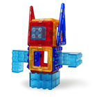 Car Magplayer 32pcs Robot Car Kit Magnetic Building Blocks For Toddiers Creational Block
