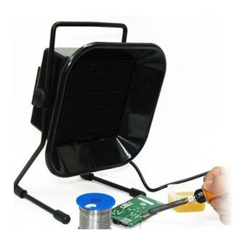 Black Soldering Smoke Absorber with power 23W and low noise