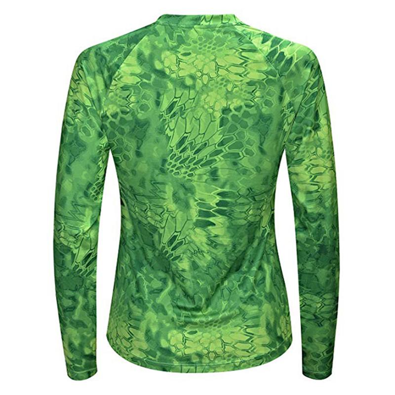 Женская одежда для рыбалки, женские негабаритные рубашки для рыбалки с сублимационной печатью