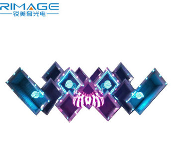Nightclub dj booth dj use indoor led video display