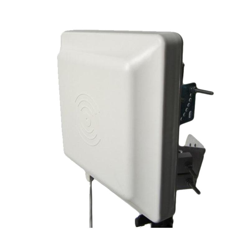 Reliablerfid Outdoor Vehicle Access Control RS232 Serial Port ISO 18000-6c Gen 2 Medium range UHF RFID Reader