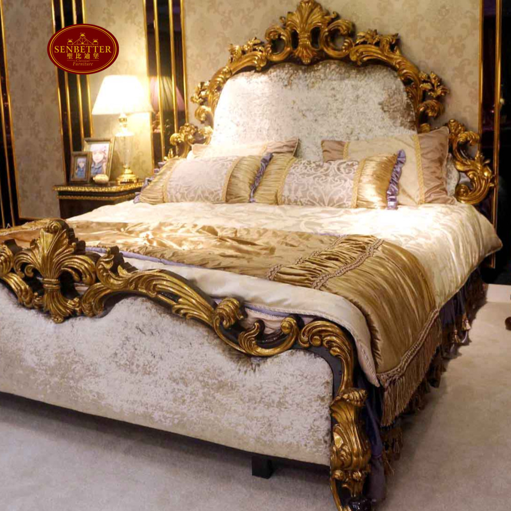 0063 Arabic Style Wooden Carving Royal Luxury Bedroom Furniture View Royal Luxury Bedroom Furniture Senbetter Product Details From Foshan Youbond Furniture Co Ltd On Alibaba Com