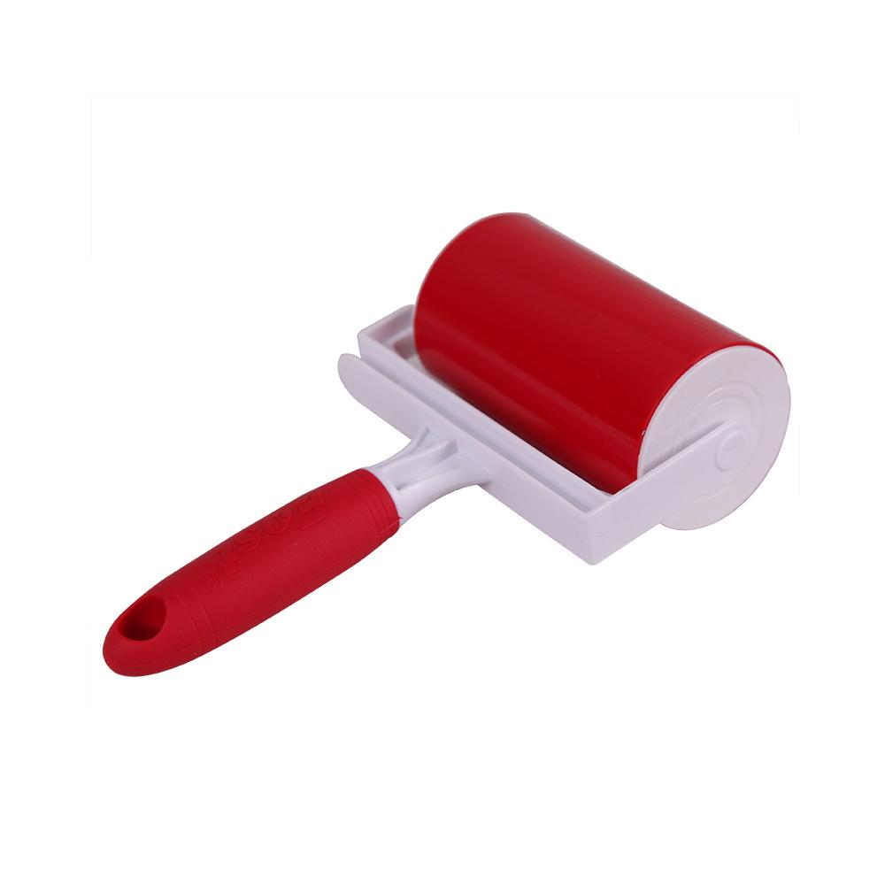Восточный эластичный прилипания роллер для удаления выпавшей шерсти кисть для снятия одежда ковер щетка очистительного ролика кистей для макияжа лента, что обеспечивает глубокое очищение кожи
