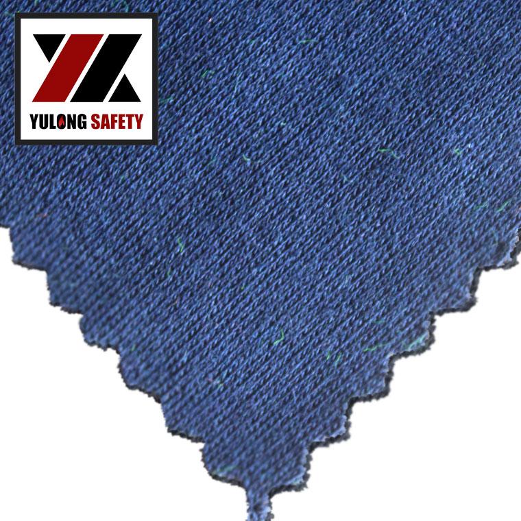 Fire Retardant Anti-static Modacrylic Cotton Fireproof Knitted Fabric